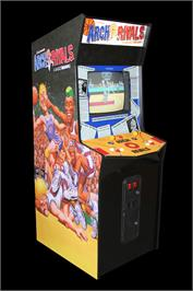 Arcade Cabinet for Arch Rivals.