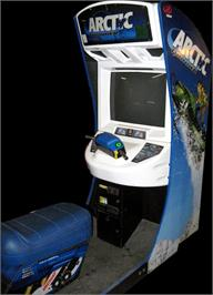 Arcade Cabinet for Arctic Thunder.