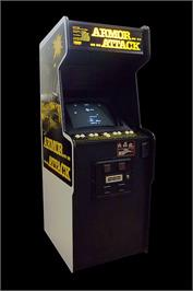 Arcade Cabinet for Armor Attack.