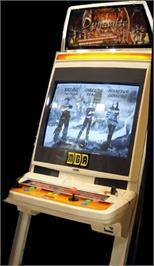 Arcade Cabinet for Asian Dynamite.