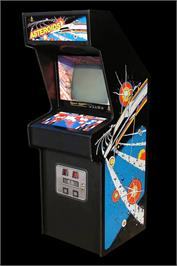 Arcade Cabinet for Asteroids.