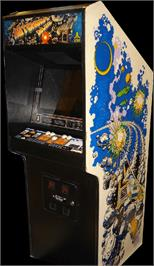 Arcade Cabinet for Asteroids Deluxe.