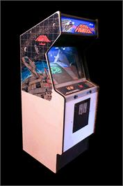 Arcade Cabinet for Astro Fighter.