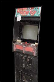 Arcade Cabinet for Atomic Boy.