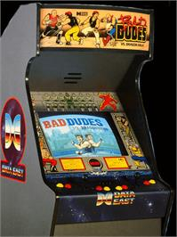 Arcade Cabinet for Bad Dudes vs. Dragonninja.