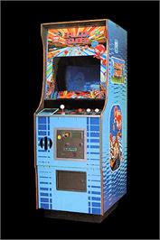 Arcade Cabinet for Balloon Bomber.