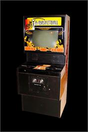 Arcade Cabinet for Basketball.