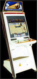 Arcade Cabinet for Beach Spikers.