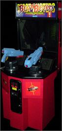 Arcade Cabinet for Beast Busters 2nd Nightmare.