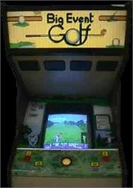 Arcade Cabinet for Big Event Golf.
