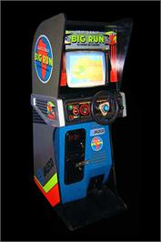 Arcade Cabinet for Big Run.