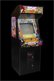 Arcade Cabinet for Bionic Commando.