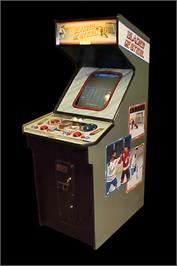 Arcade Cabinet for Blades of Steel.