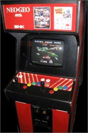Arcade Cabinet for Blazing Star.