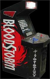 Arcade Cabinet for Blood Storm.