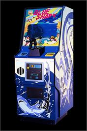 Arcade Cabinet for Blue Shark.