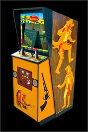 Arcade Cabinet for Boot Hill.