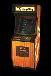 Arcade Cabinet for Bowling Alley.