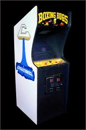 Arcade Cabinet for Boxing Bugs.