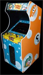 Arcade Cabinet for Bubble Bobble.