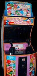 Arcade Cabinet for Bubble Trouble.