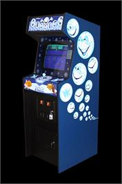 Arcade Cabinet for Bubbles.