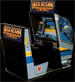 Arcade Cabinet for Buck Rogers: Planet of Zoom.