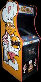Arcade Cabinet for Burger Time.