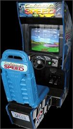 Arcade Cabinet for California Speed.
