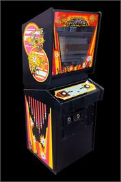 Arcade Cabinet for Canyon Bomber.