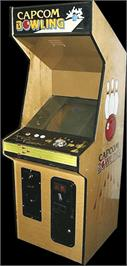 Arcade Cabinet for Capcom Bowling.