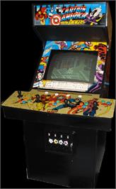 Arcade Cabinet for Captain America and The Avengers.