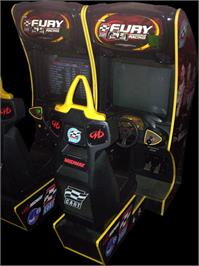 Arcade Cabinet for Cart Fury.