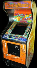 Arcade Cabinet for Cheeky Mouse.