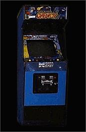 Arcade Cabinet for Chelnov - Atomic Runner.