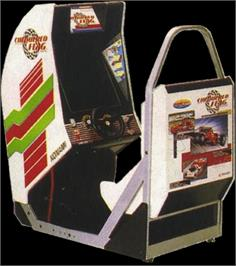 Arcade Cabinet for Chequered Flag.