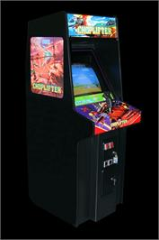 Arcade Cabinet for Choplifter.
