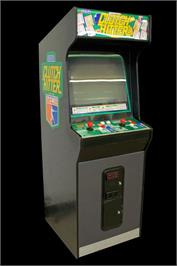 Arcade Cabinet for Clutch Hitter.