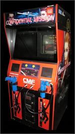 Arcade Cabinet for Confidential Mission.
