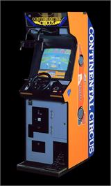 Arcade Cabinet for Continental Circus.