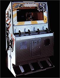 Arcade Cabinet for Cops'n Robbers.