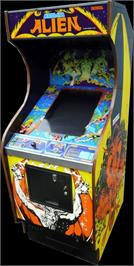 Arcade Cabinet for Cosmic Alien.