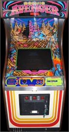 Arcade Cabinet for Cosmic Avenger.