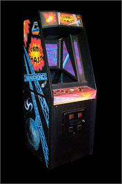 Arcade Cabinet for Cosmic Chasm.