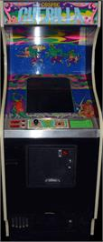 Arcade Cabinet for Cosmic Guerilla.