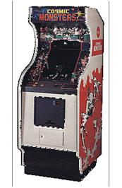 Arcade Cabinet for Cosmic Monsters.