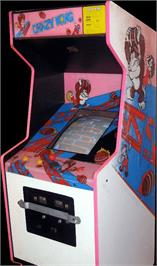 Arcade Cabinet for Crazy Kong.