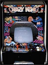 Arcade Cabinet for Crazy Kong Part II.