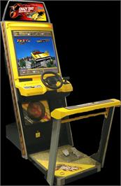 Arcade Cabinet for Crazy Taxi High Roller.