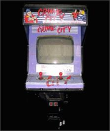 Arcade Cabinet for Crime City.